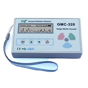 New GQ GMC-320 Geiger Counter Nuclear Radiation Detector