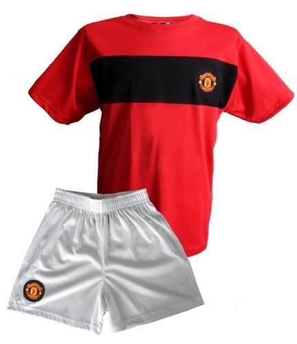 maillot-short-collection-officielle-manchester-united-football-taille-enfant-garcon-10-ans