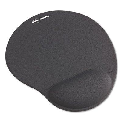 Innovera Mouse Pad with Gel Wrist Pad, Gray (50449) (Gel Wrist Mouse Pad compare prices)