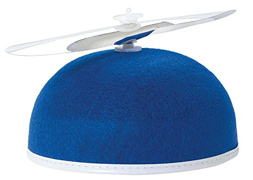 beanie propellor hat blue - 1