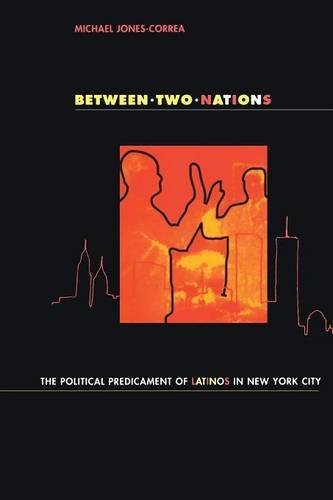 Between Two Nations: Wittgenstein, Meaning, and Aesthetic Theory: Political Predicament of Latinos in New York City