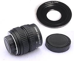 RainbowImaging 35MM F1.7 TV Lens + Lens Adapter for Sony NEX-3 NEX-5 NEX-VG10 camera