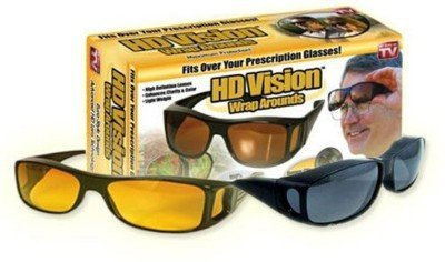 Diswa Day & Night HD Vision Goggles Anti-Glare Polarized Sunglasses Men/Women Driving Glasses Sun Glasses UV Protection car Drivers  available at amazon for Rs.298