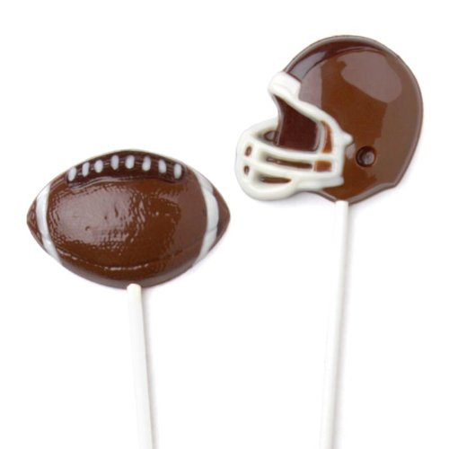 Make N' Mold Dress My Cupcake Helmet And Football Pops Candy Mold front-1074637
