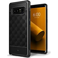 Caseology Parallax Series Galaxy Note 8 Protective Dual Layer Case (Black)