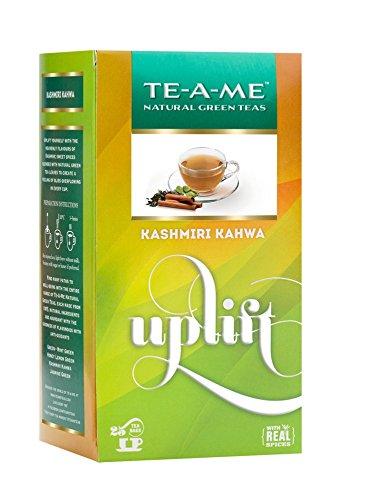TE-A-ME Kashmiri Kahwa Green Tea Bag - 25 Tea Bags  available at amazon for Rs.160