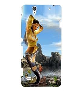 PRINTSHOPPII GIRL HOTT Back Case Cover for Sony Xperia C4 Dual E5333 E5343 E5363::Sony Xperia C4 E5303 E5306 E5353