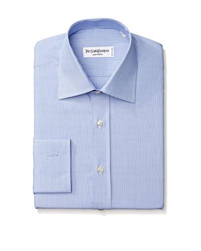 Yves Saint Laurent Men's Stripe Dress Shirt