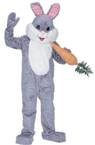 Rubie's Costume Premium Rabbit Mascot Grey Costume