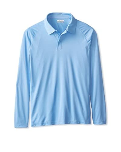Columbia Men's Bunker Basin Long Sleeve Polo