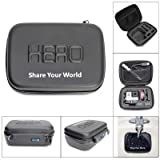 Ofeely Shockproof Waterproof Hard Case Box Bag For GoPro HD Hero4/3+/3/2 (black Small Case)