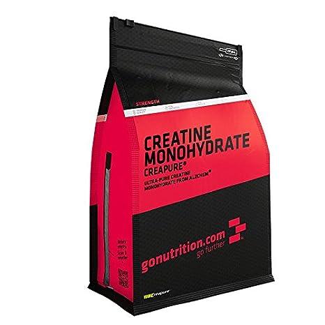 GoNutrition Kreatin-Monohydrat Creapure Pulver - Geschmacksneutral - 1kg