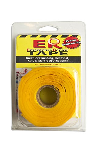 """Er Tape Gl20Y67000 Yellow 1"""" X 0.020"""" X 36' Self-Fusing Silicone Tape With 1"""" Core"""