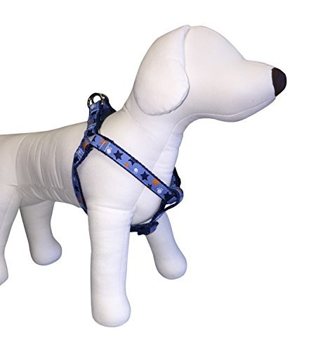 top-paw-dog-harness-for-small-dogs-w-girth-14-20-non-pulling-stars-paws-42s-by-top-paw