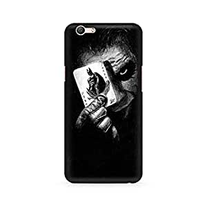 Mobicture Joker with Batman Card Premium Printed Case For Oppo F1S