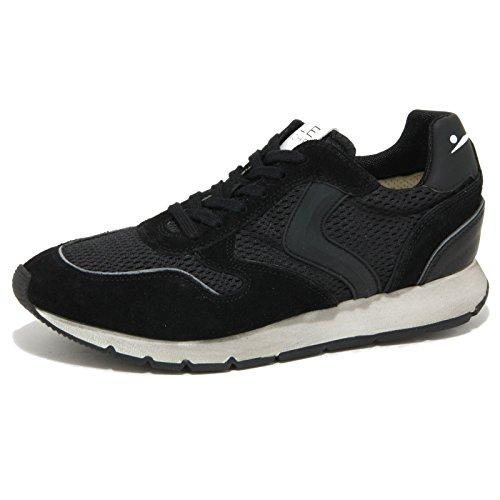 0863O sneaker VOILE BLANCHE LIAM SPOILER nero scarpe donna shoes women [39]