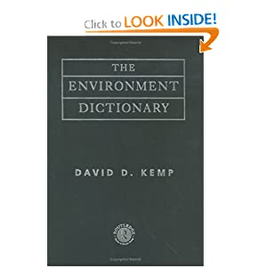 Environment Dictionary | RM.