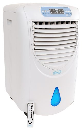 NewAir AF330 Portable Evaporative Swamp Air Cooler with BuiltIn HEPA Air Purifier