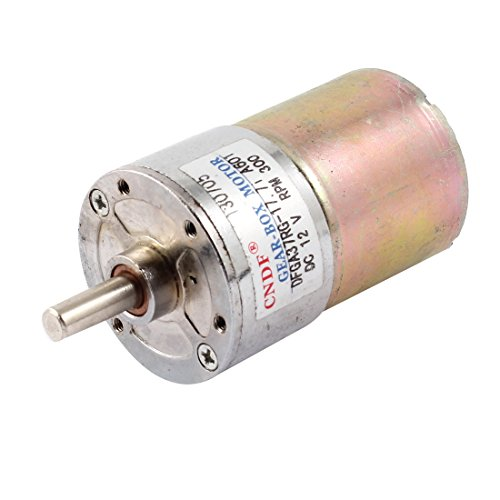 Dc 12V 300Rpm Magnetic Electric Gear Box Motor Spare Parts