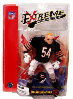 Buy Low Price Mezco NFL Extreme Athletes Brian Urlacher Figure (B000M91GQG)