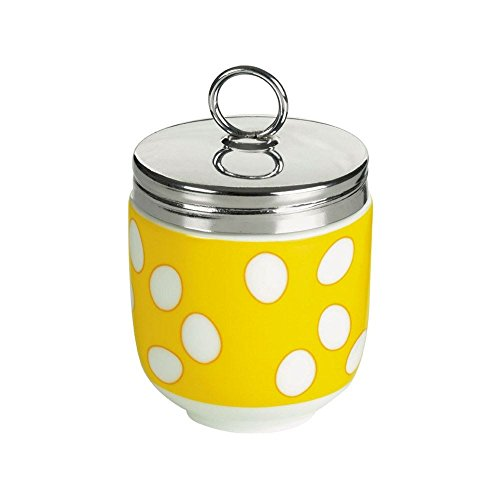 DRH Egg Coddler / Egg Poacher, Yellow Spotty