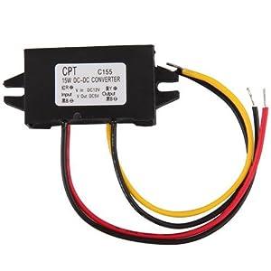 Ecloud Shop 2 pieces Transformador Convertidor 12V 5V 3A 15W Corriente Coche LED   Comentarios y más información