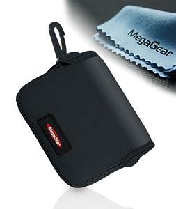 MegaGear ''Ultra Light'' Neoprene Camera Case Bag for Canon G16, G15, Sx170, Sx160, Sx150, Sony DSC-HX50, Canon PowerShot SX700 cameras (Black)