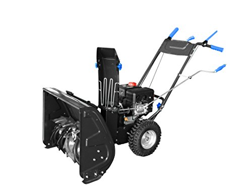 AAVIX AGT1426 208cc 2-Stage Electric Start Self-Propelled Snow Blower, 26