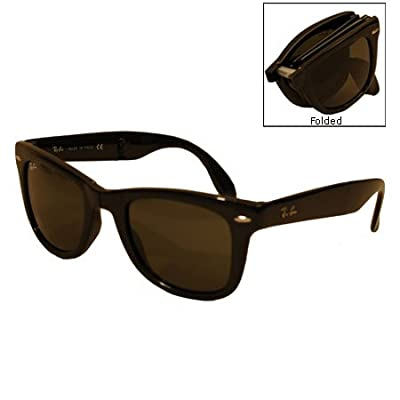 Ray-Ban RB4105 Folding Wayfarer Square Sunglasses