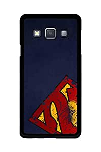 Caseque Man of Steel Back Shell Case Cover For Samsung Galaxy A3