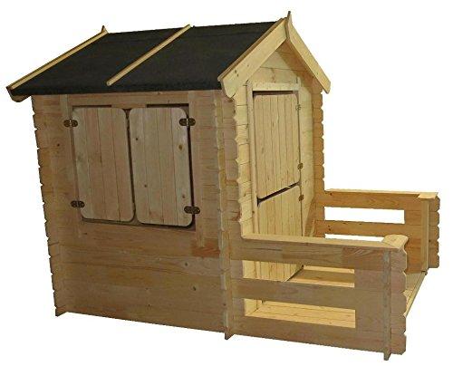 Kinderspielhaus Holz Greenseason ~ günstigen Preis von rund 289, € bietet das Garten Kinderspielhaus