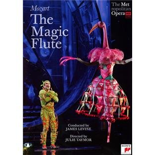 The Magic Flute: The Metropolitan Opera (Levine) [DVD] [2011] [NTSC]