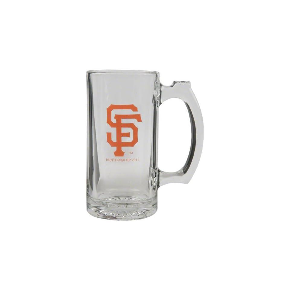 San Francisco Giants Beer Mug 3D Logo Glass Tankard