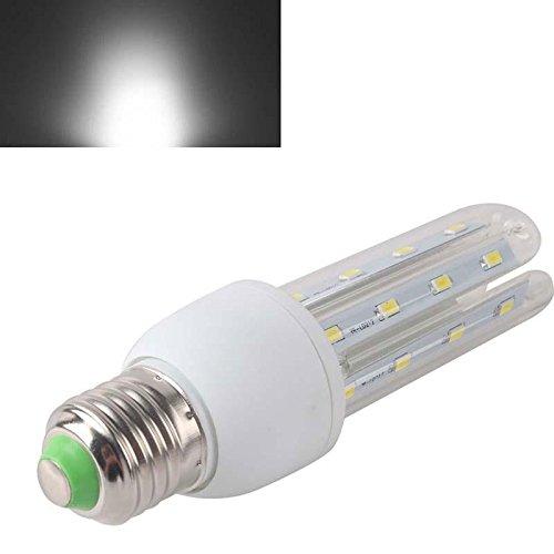 Home Useful E27 12W 24 Led 5730 Smd U-Shape Cover Spotlight Light Bulb Warm Pure White
