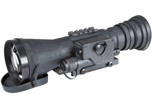 Armasight Co-Lr Gen 3 Ghost Mg White Phosphor Night Vision Long Range Clip-On System With Manual Gain, Black