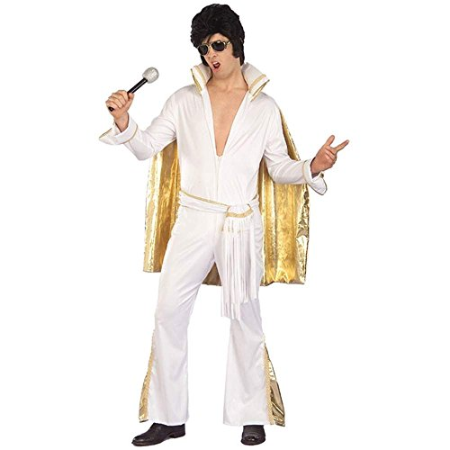 Rock N Roll Elvis Adult Costume - Standard