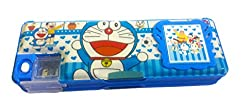 Gifts Online Multipurpose Pencil Box with calculator & dual sharpner - Doraemon