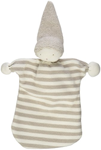 Under The Nile Tan Stripe Sleeping Doll Lovie