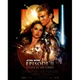 Star Wars Episode II Attack of the Clones Movie Poster Art Print Poster