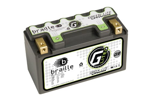 Braille Battery Green-Lite G9L 12 Volt Lithium Motorcycle ATV Battery