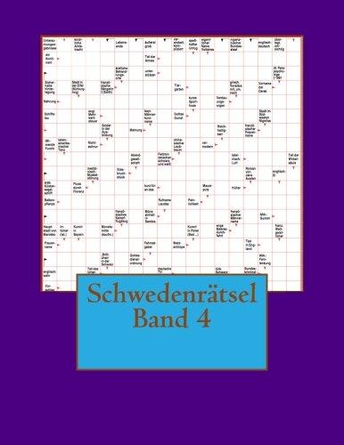 Schwedenratsel Band 4  [Schwedenratsel] (Tapa Blanda)