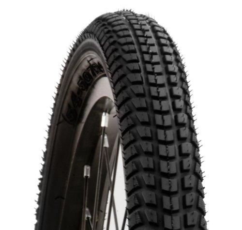Schwinn Street/Knobby Bike Tire with Kevlar (Black, 26 x 1.95-Inch)