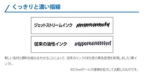 Uni-Ball-Jetstream-Pointe Fine pour stylos Roller Standard recharges de stylo à encre-Pointe 0,7 mm-Noir-Lot de 10