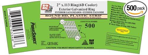 x 113 Ring Shank Hot