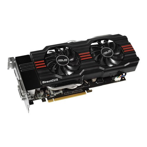 Asus GeForce GTX660 TI-DC2-2GD5 Nvidia Graphics Card (2GB, GDDR5, HDMI, DVI-I, DVI-D, Display Port, OpenGL 4.2, DirectX 11, Nvidia 3D Vision Surround Ready, PCI-Express 3.0)