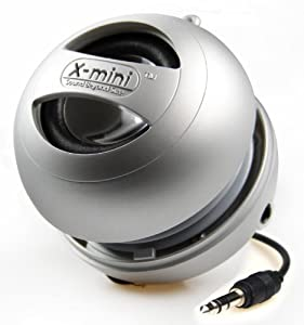 X-Mi X Mini II 2nd Generation Capsule iPhone / iPad 2 3 / iPod / MP3 / Laptop Speaker - Silver