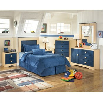 Blue Berry Pie Youth Panel Bedroom Set by Signature Design