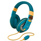 eKids Phineas and Ferb Agent P Over the Ear Headphones, by iHome  - DF-M403