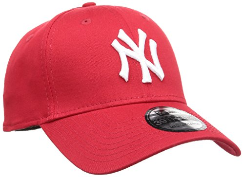 New Era - 39 Thirty Classic Yankees, Berretto da donna, Multicolore (Red/White), M/L