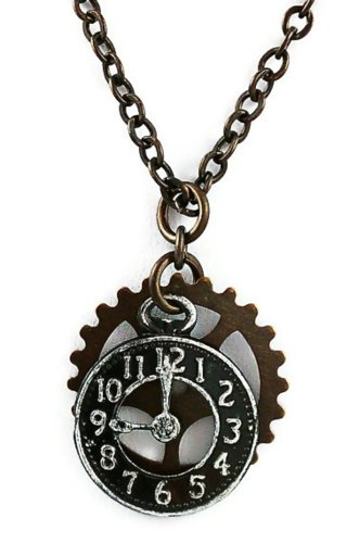 Brass-Necklace-Steampunk-Clock-and-Gears-18